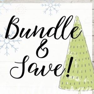 BUNDLE 2 ITEMS FOR 25% OFF!